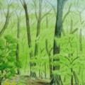 April Wood Colour Study 2