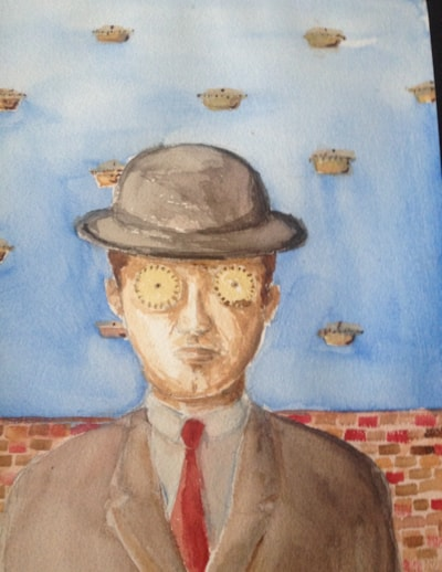 Mince Pies (with humble apologies to Magritte