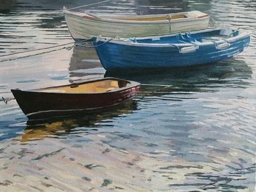 'Three Boats'