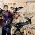 Trafalgar Pigeons
