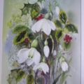 Snowdrops and Holly