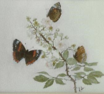 Butterflies & Bramble