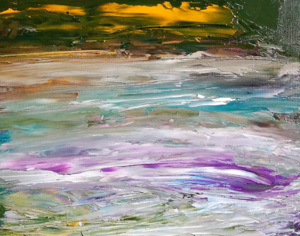 Abstract Creek