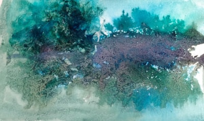 Mist over water.  Abstract