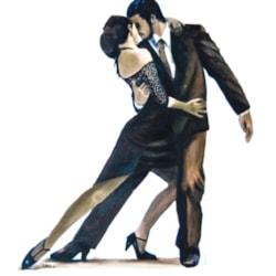 Tango in bronze