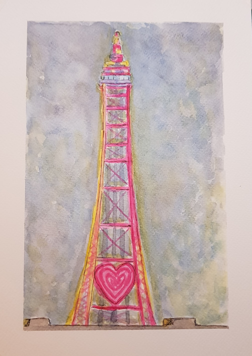 Blackpool tower in all her glory