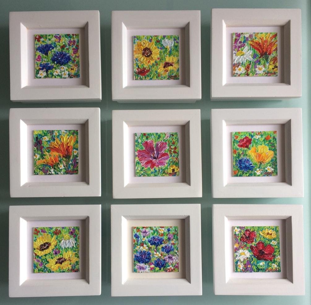 Wildflower miniatures