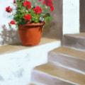 Geranium Stairs