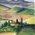 Blue Tuscany