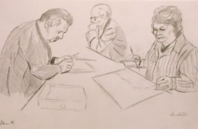 Sketches of art group