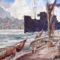 Entering Harbour