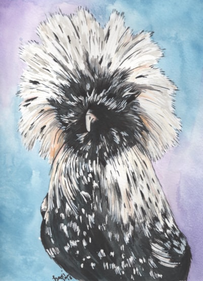 Fry the Polish Chicken - Watercolour 2018