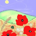 Poppies - IPAD ART