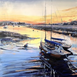Bembridge Harbour Evening