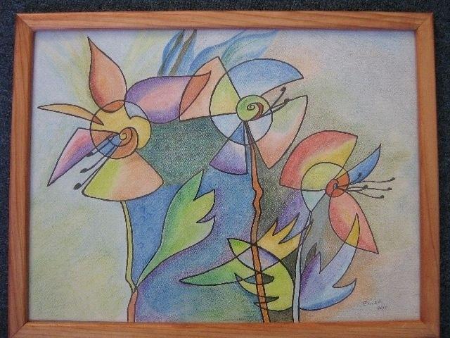 Twirly flowers
