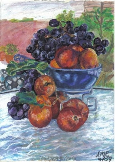 Grapes & Nectarines