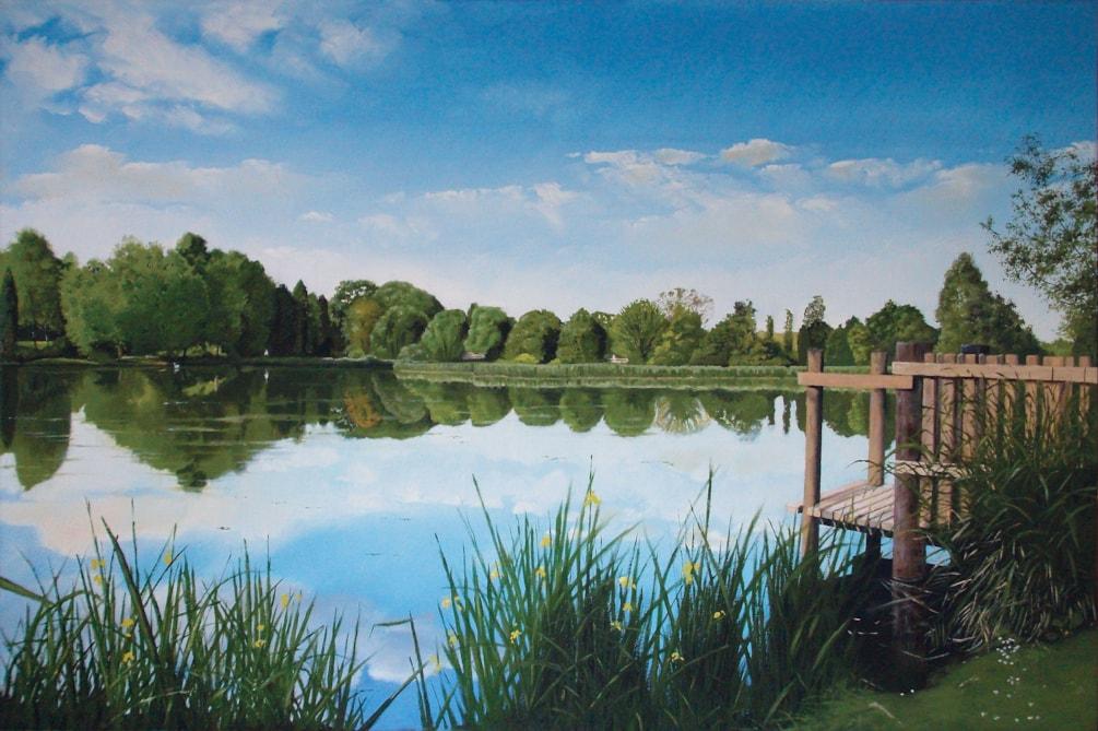 Bodenham Arboretum - The Big Pool