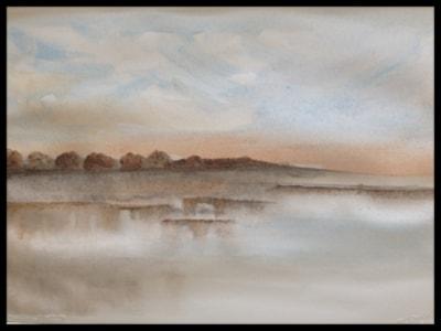 Twilight-Rickmansworth Lake