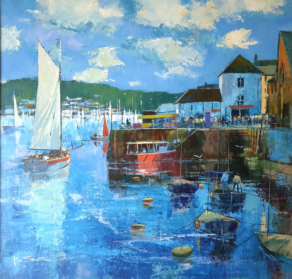Harbour activity, Fowey