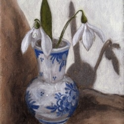 S is for Snowdrops