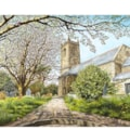 Spring at St Michael's Church, Helston, Cornwall