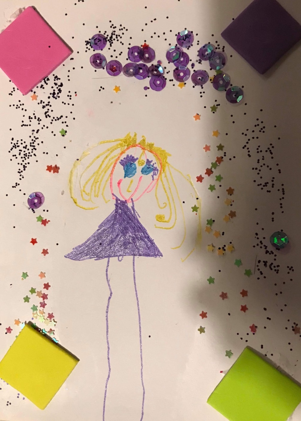 Princess by Imogen age 4