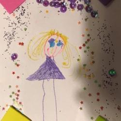 Princess by Imogen age 4