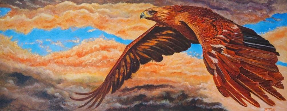 Watching Over Me. (An Eagle For International Women's Day.)