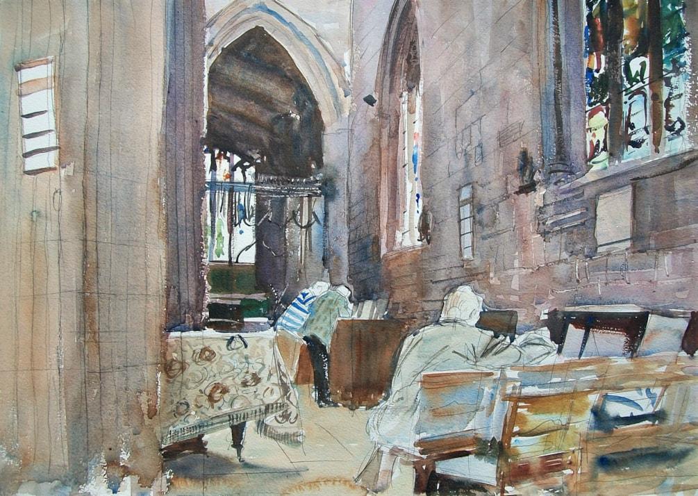 Saint John's Church in Coventry.