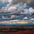 Clouds over Holy Island