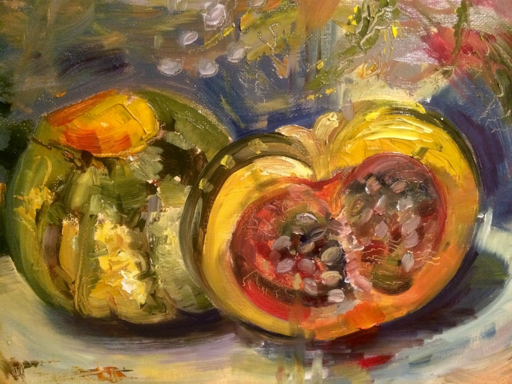 Squash on the Paint!