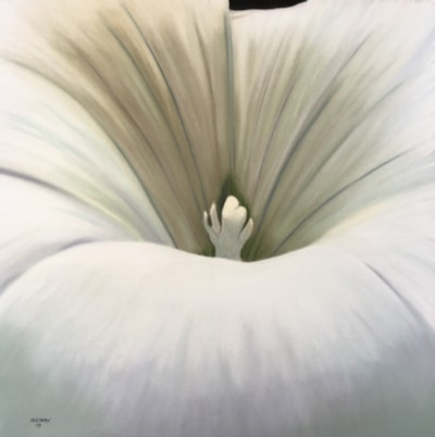Billowing silk