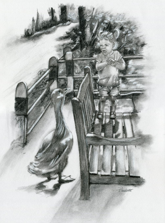 Faith and the Goose
