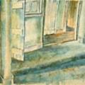 The cottage hallway