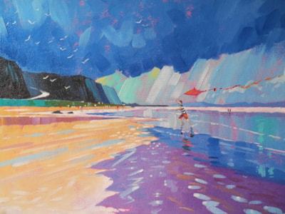 The Kite runner, Benone Strand. Co Londonderry