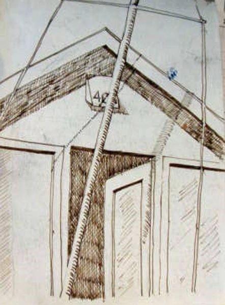 Beach Hut abstract