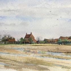 Old farm in Norfolk