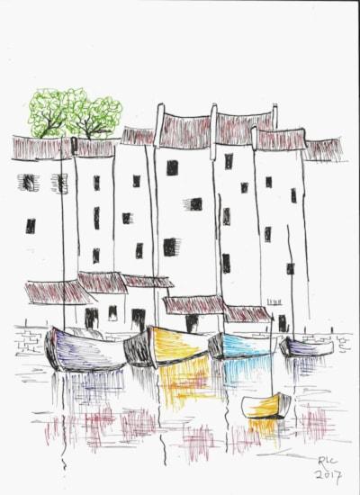 Brittany / Preliminary Sketch