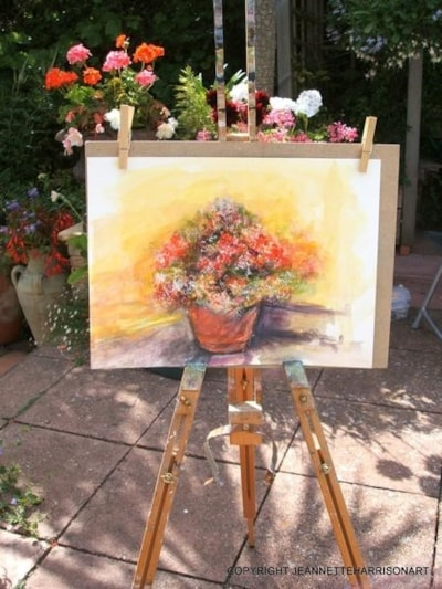 Garden Pot Plein Air