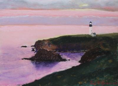 Sunset at Yaquina Head Lighthouse