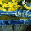 Birdbath Blue