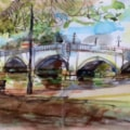 Sketch of Richmond Bridge