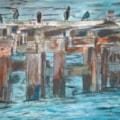 The cormorants.