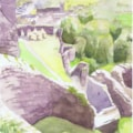 from Corfe Castle