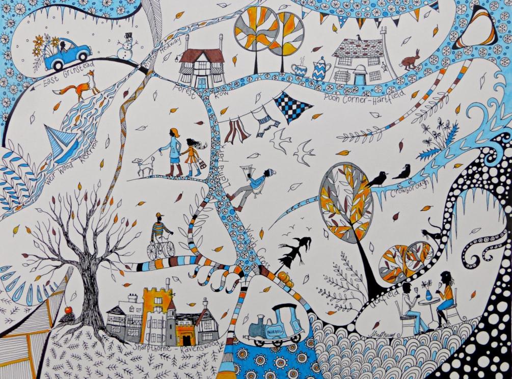 Ashdown Forest Winter