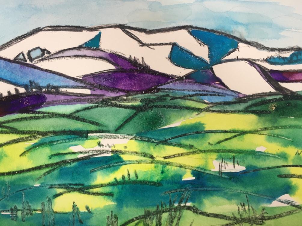Blencathra from Askham Fell