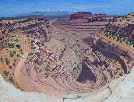 Vertigo at Canyonlands National Park