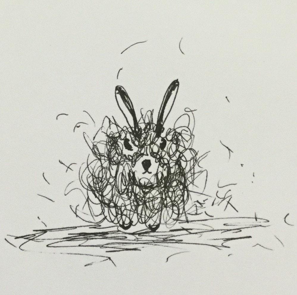 Kirstie's Monster Challenge....Dust Bunny!