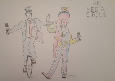 The media circus