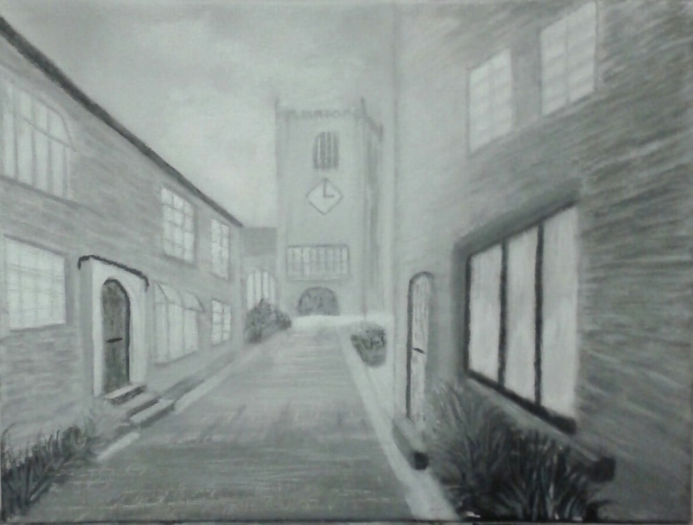 Croston village from my photo